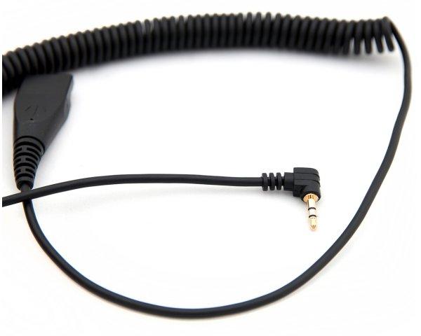 AxTel Headsetkabel (QD / 2,5 mm Klinke) AXC-25