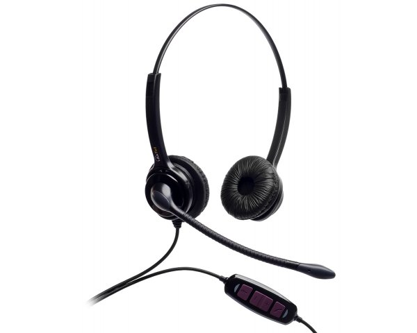 AxTel MS2 Duo USB Headset MS Lync zertifiziert AXH-MS2D
