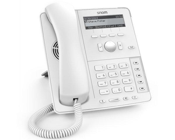 Snom D715 VoIP Telefon, Weiß 4381