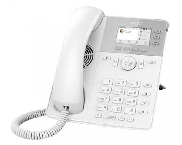 Snom D717 VoIP Telefon, Weiß 4398
