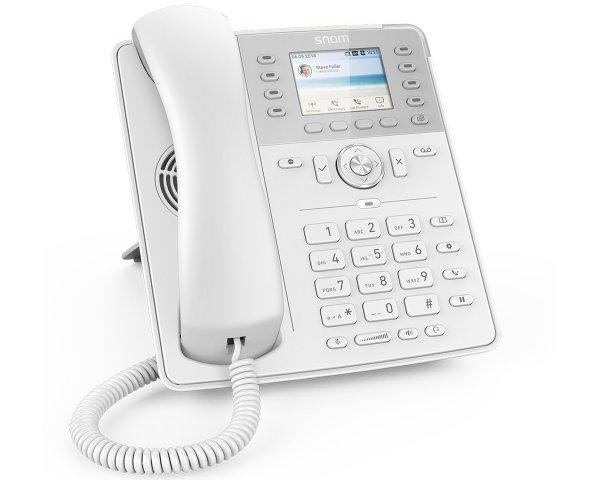 Snom D735 VoIP Telefon, Weiß 4396