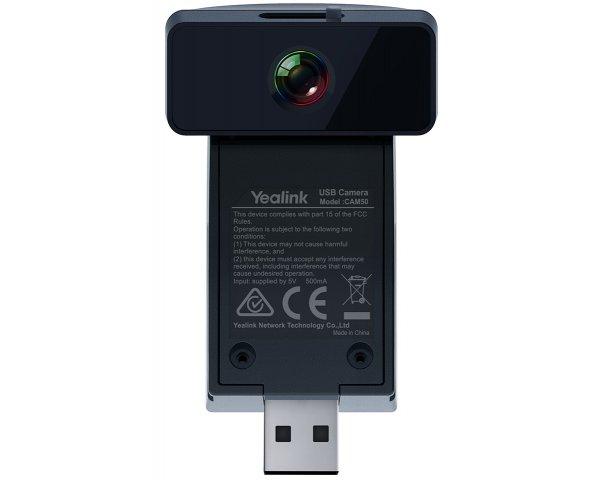 Yealink CAM50, Kamera zu SIP-T56A 2MP Schwarz Digitalkamera