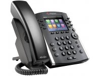 Poly VVX 401 SIP IP Telefon (Skype Version) 12-line Desktop Phone mit HD Voice, PoE, ohne Netzteil
