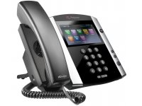 Poly | Polycom VVX 600 16-line Business Media Phone with built-in Bluetooth and HD Voice